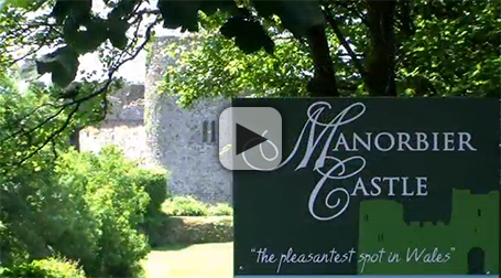 Manorbier Castle Video