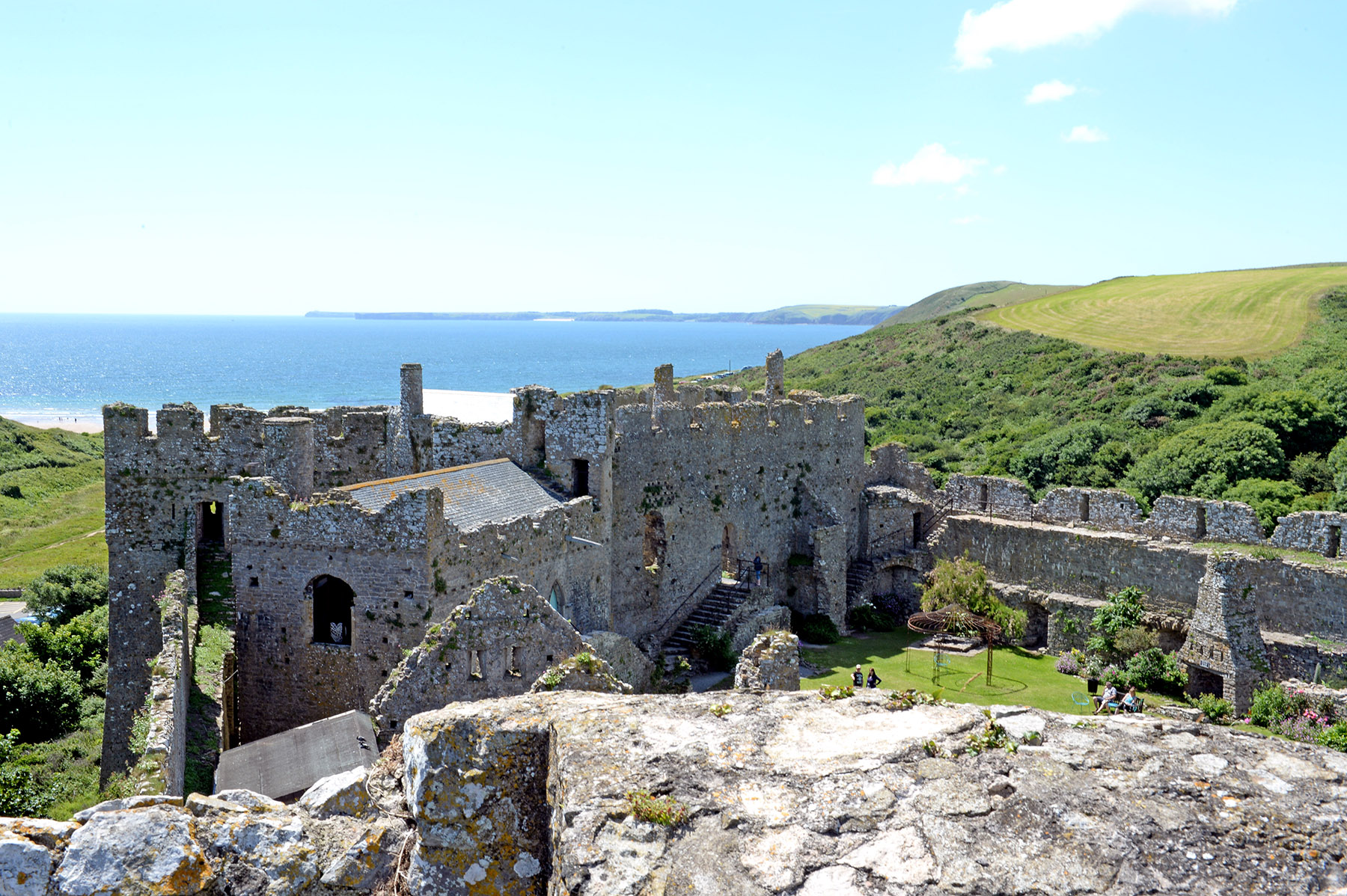 Manorbier Castle – Weddings, Visit and Stay in a Castle in